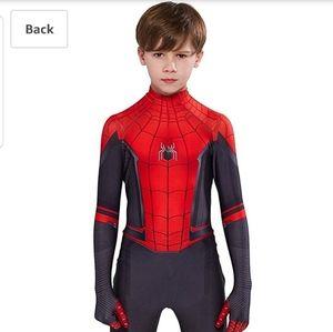 Spiderman Costume M Boys